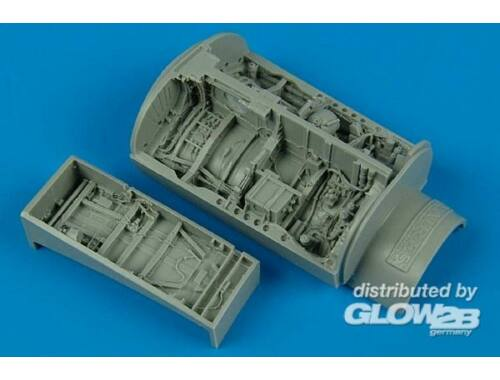 Aires F-16C/D Falcon wheel bays for Kinetic 1:48 (4439)