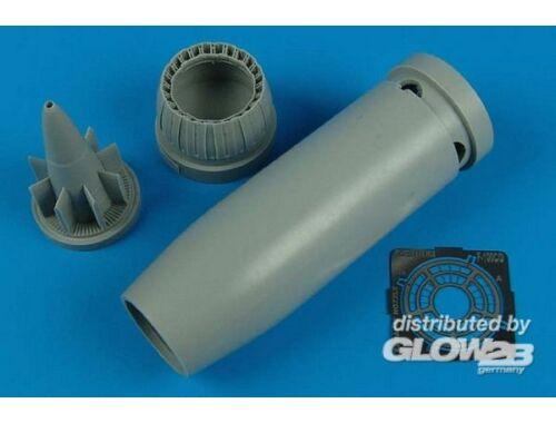 Aires F-100C/D Super Sabre exhaust nozzle (TRU 1:48 (4455)