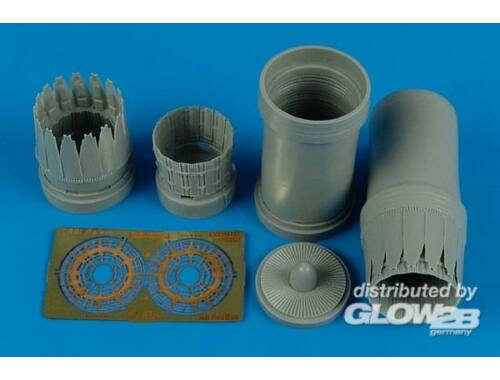 Aires F-15l Ra'am exhaust nozzles for Revell 1:48 (4496)
