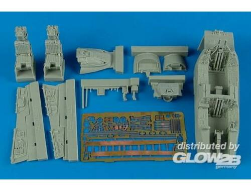 Aires F-14A Tomcat cockpit set for Academy 1:48 (4523)