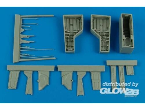 Aires T-28 Trojan wheel bay for Roden 1:48 (4584)