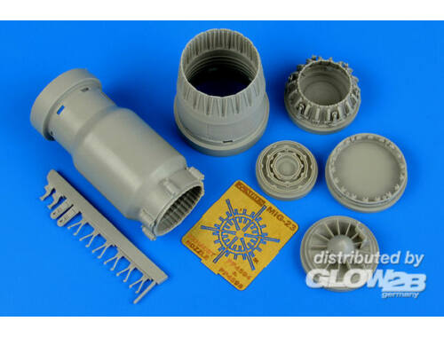 Aires MiG-23 Flogger exhaust nozzle for Trumpe 1:48 (4598)