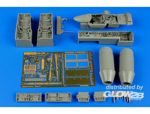 Aires F/A-18E Super Hornet detail set f.Hasega 1:48 (4635)