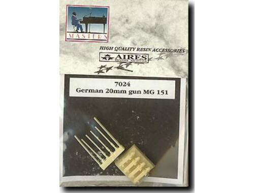 Aires German 20 mm MG 151 1:72 (7024)