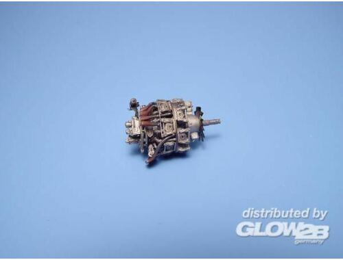 Aires BMW 801D Engine Dt. Triebwerk WW II 1:72 (7073)