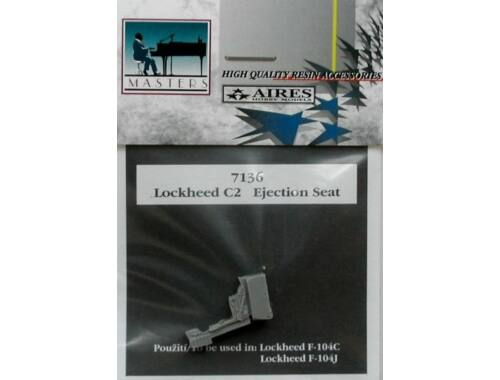 Aires Lockheed C2 seat for F-104C 1:72 (7136)
