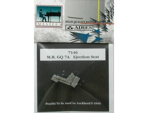 Aires M.B. GQ 7A seat for F-104G 1:72 (7146)