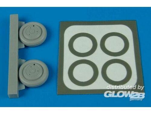 Aires Su-15 Flagon wheels   paint masks für Trumpeter Bausatz 1:72 (7218)
