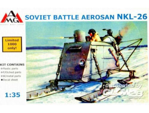 AMG NKL-26 Aerosan (aerosledge, snowmobile) 1:35 (AMG35302)