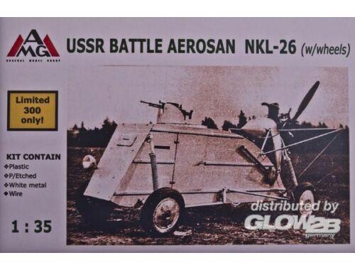 AMG NKL-26 Aerosan on wheels 1:35 (AMG35303)