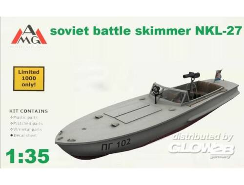 AMG NKL-27 armed speed boat WWII 1:35 (AMG35402)
