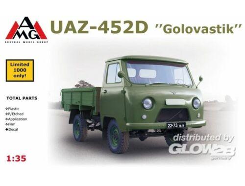 """AMG UAZ-452D """"Golovastik"""" 1:35 (35403)"""