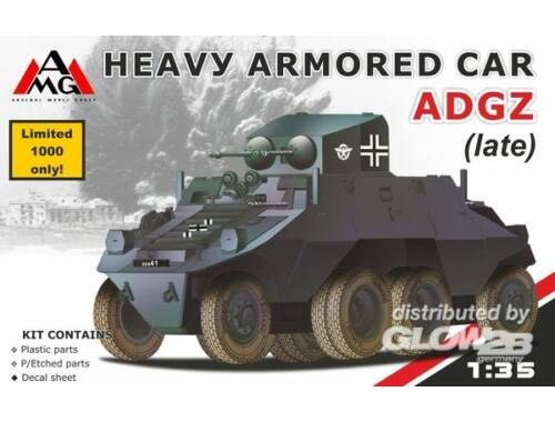 AMG Heavy Armored Car ADGZ (late) 1:35 (AMG35502)