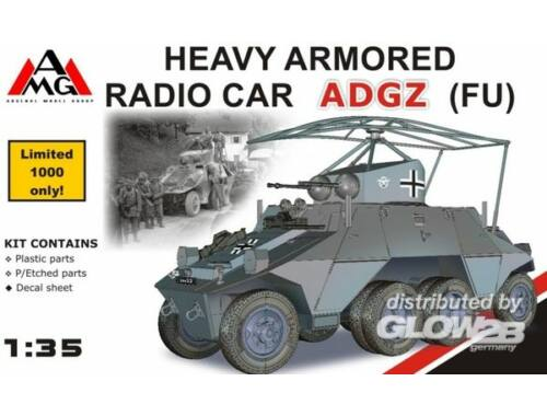 AMG Heavy Armored Radio Car ADGZ (FU) 1:35 (AMG35504)
