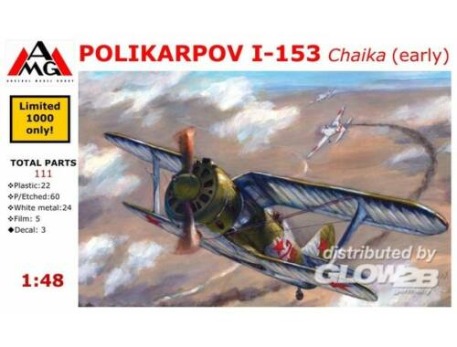 AMG Polikarpov I-153 Chaika (early) 1:48 (AMG48302)