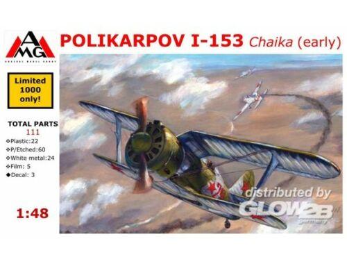 AMG Polikarpov I-153 Chaika (early) 1:48 (AMG48302)