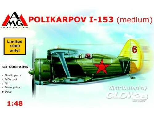 AMG Polikarpov I-153 Chaika (medium) 1:48 (AMG48304)