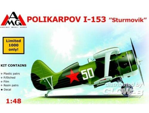 AMG Polikarpov I-153 Sturmovik 1:48 (AMG48306)