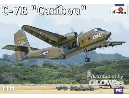 """Amodel C-7B """"Caribou"""" 1:144 (1412)"""