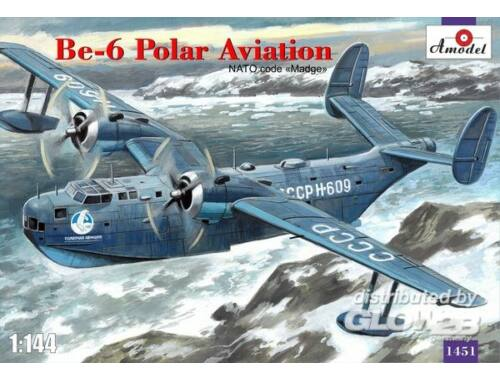 Amodel Beriev Be-6 reconnaissance a.patrol aicr 1:144 (1451)