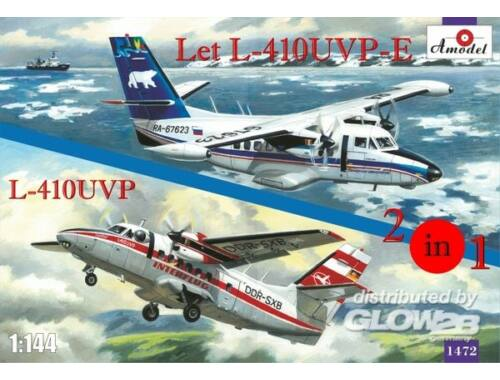 Amodel Let L-410UVP-E   L-410UVP aircraft(2 kit 1:144 (1472)