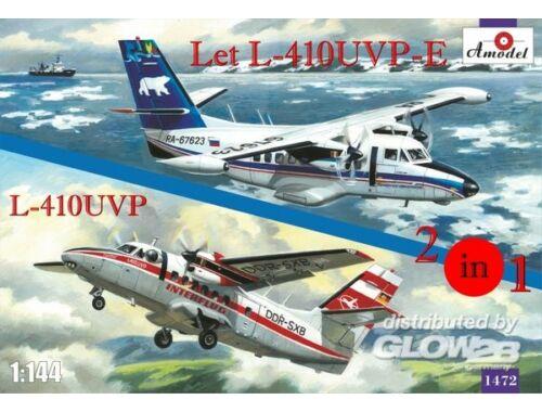 Amodel Let L-410UVP-E   L-410UVP aircraft(2 kit 1:144 (1472)