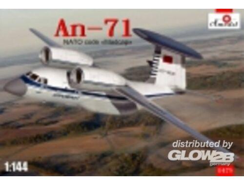 Amodel Antonov An-71 Madcap Soviet AWACS aircra 1:144 (1475)