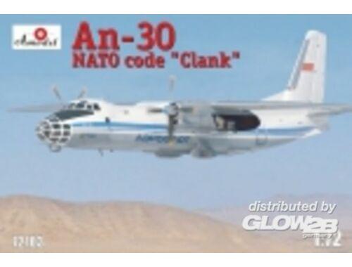 Amodel Antonov AN-30 Clank Soviet aerial cartog 1:72 (72103)