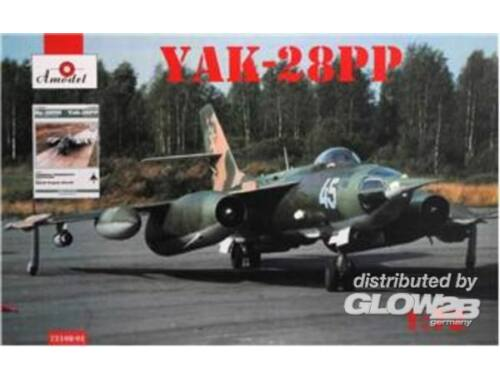 Amodel Yakovlev Yak-28PP book Yak-28PP Rew Airc 1:72 (72108-01)