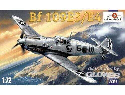 Amodel Messerschmitt Bf 109 E-3/E-4 Re-release 1:72 (72117)