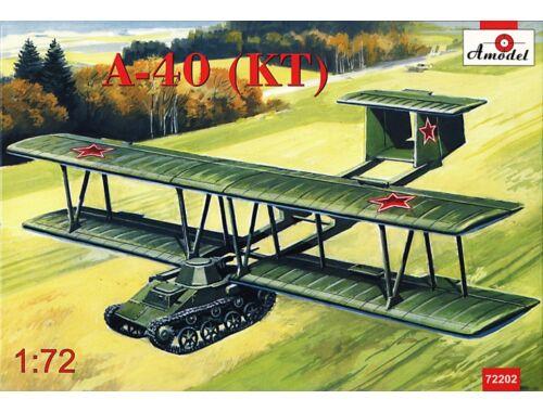 Amodel Antonov A-40 (KT)prototype flying tank T 1:72 (72202)