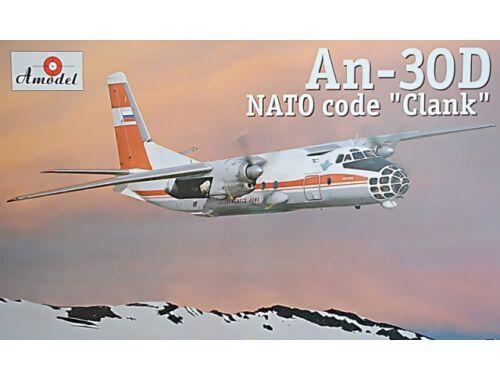Amodel Antonov An-30D Sibiryak aerial cartograp 1:72 (72223)
