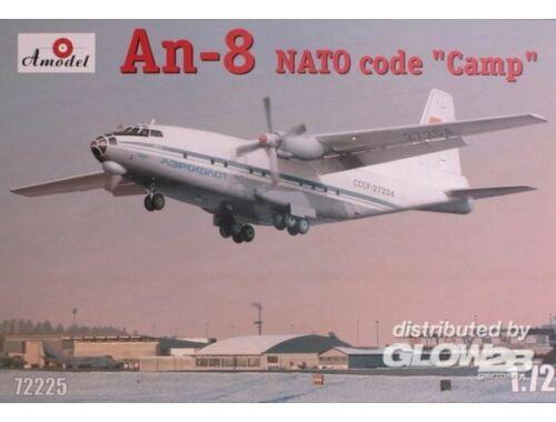 Amodel Antonov An-8 AEROFLOT 1:72 (72225)
