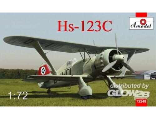 Amodel Henschel Hs 123C dive-bomber 1:72 (72248)