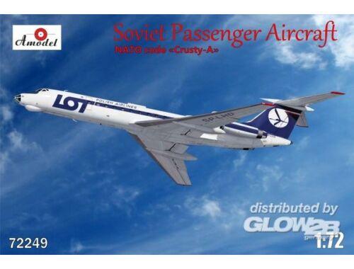 Amodel Tupolev Tu-134A LOT airlines 1:72 (72249)