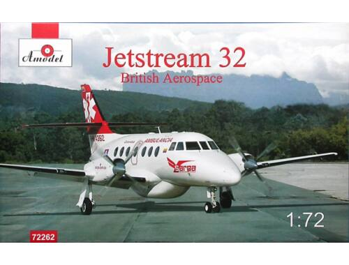 Amodel Jetstream 32 British airliner 1:72 (72262)