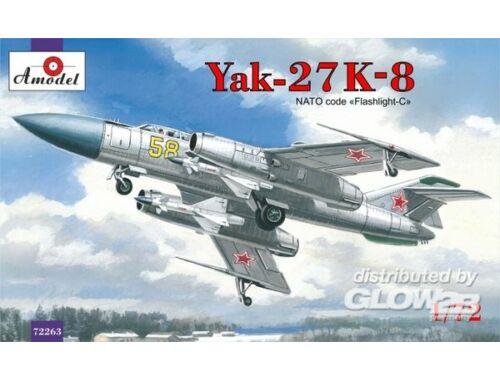 Amodel Yakovlev Yak-27K-8 interceptor 1:72 (72263)