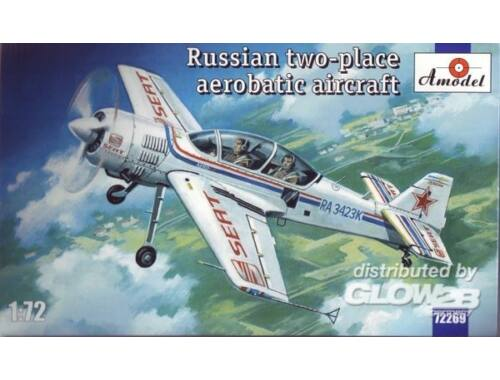 Amodel Sukhoi Su-29 Russian two-place aerobatic 1:72 (72269)