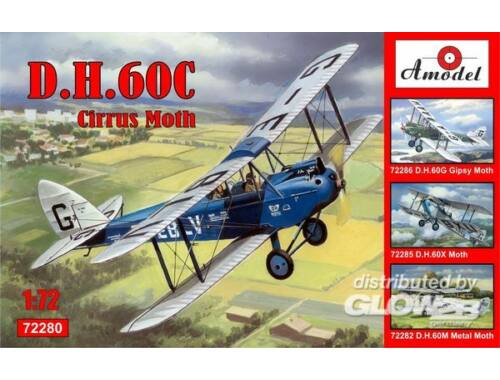 Amodel de Havilland DH.60C Cirrus Moth 1:72 (72280)