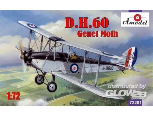 Amodel de Havilland DH.60 Genet Moth 1:72 (72281)
