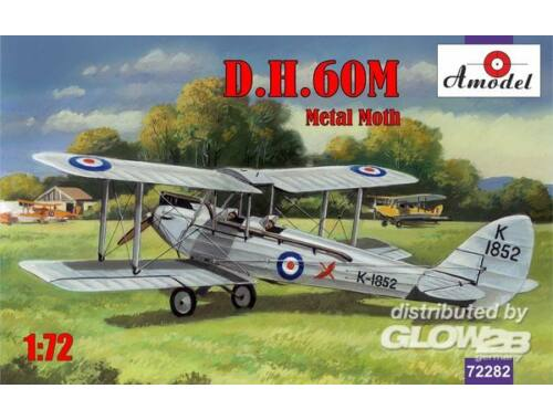 Amodel de Havilland DH.60M Metal Moth 1:72 (72282)