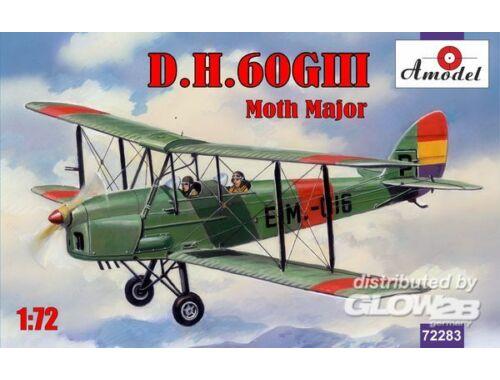 Amodel de Havilland DH.60GIII Moth Major 1:72 (72283)