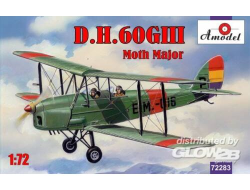 Amodel de Havilland DH.60GIII Moth Major 1:72 (72283)