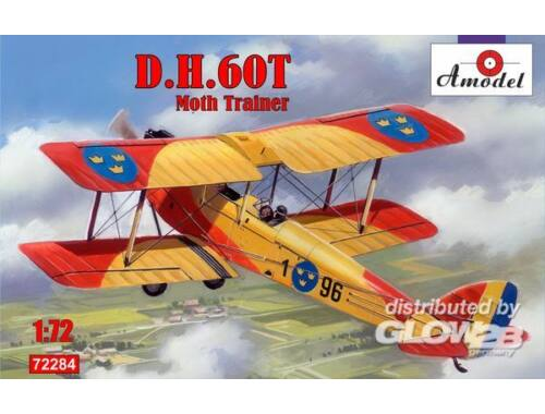 Amodel de Havilland DH.60T Moth Trainer 1:72 (72284)
