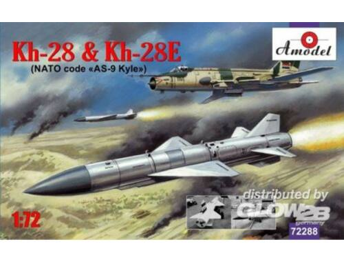 Amodel Kh-28   Kh-28E rockets 1:72 (72288)