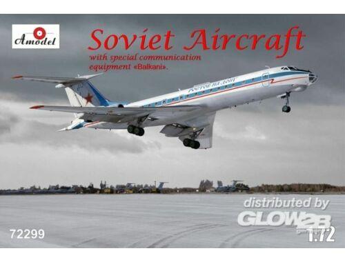 Amodel Tupolev Tu-134AK with eqipment Balkani 1:72 (72299)