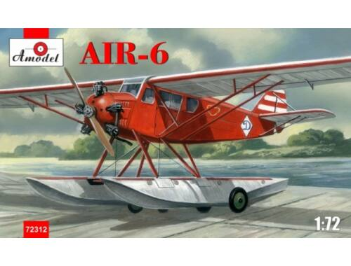 Amodel AIR-6 Soviet floatplane 1:72 (72312)