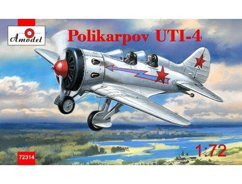 Amodel Polikarpov UTI-4. Re-release 1:72 (72314)