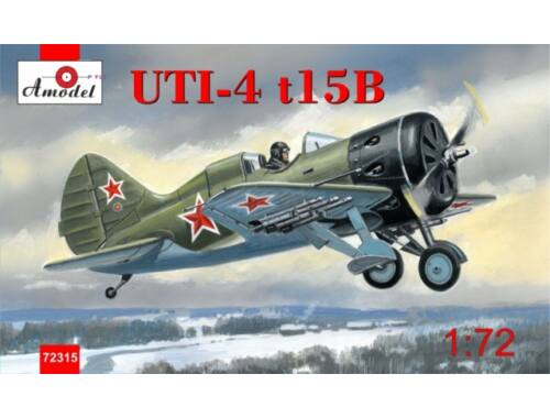 Amodel Polikarpov UTI-4 t15B fighter 1:72 (72315)