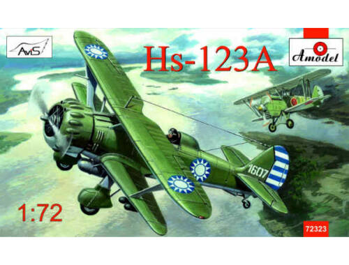 Amodel Henschel Hs-123A Chinese dive bomber 1:72 (72323)